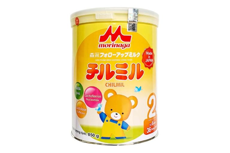 Sữa Morinaga cho bé có hệ tiêu hóa kém