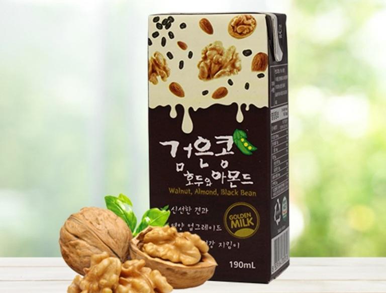 Sữa óc chó Hàn Quốc Golden Milk