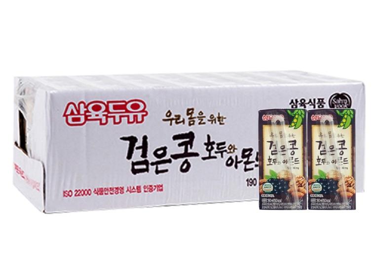 Sữa đậu đen óc chó hạnh nhân SahmYook