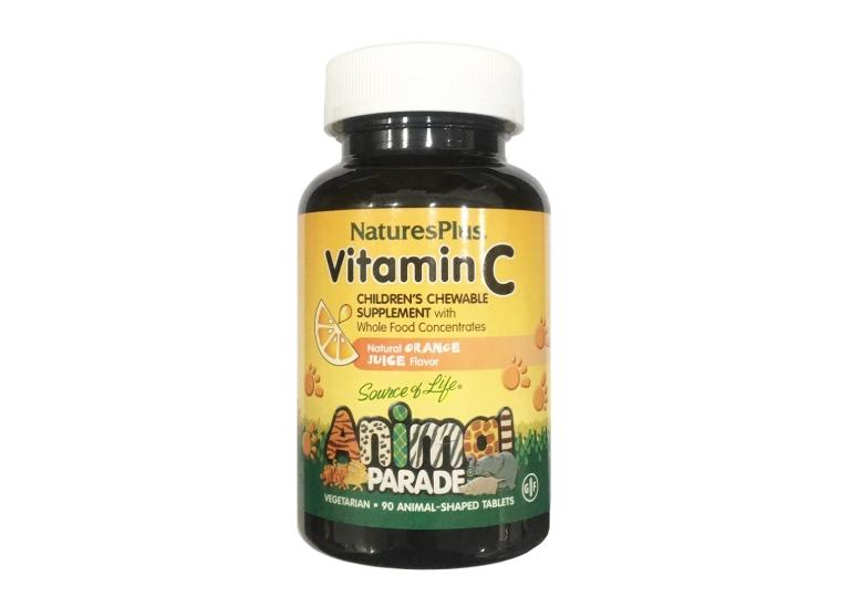 Viên ngậm vitamin C Animal Parade của Nature's Plus