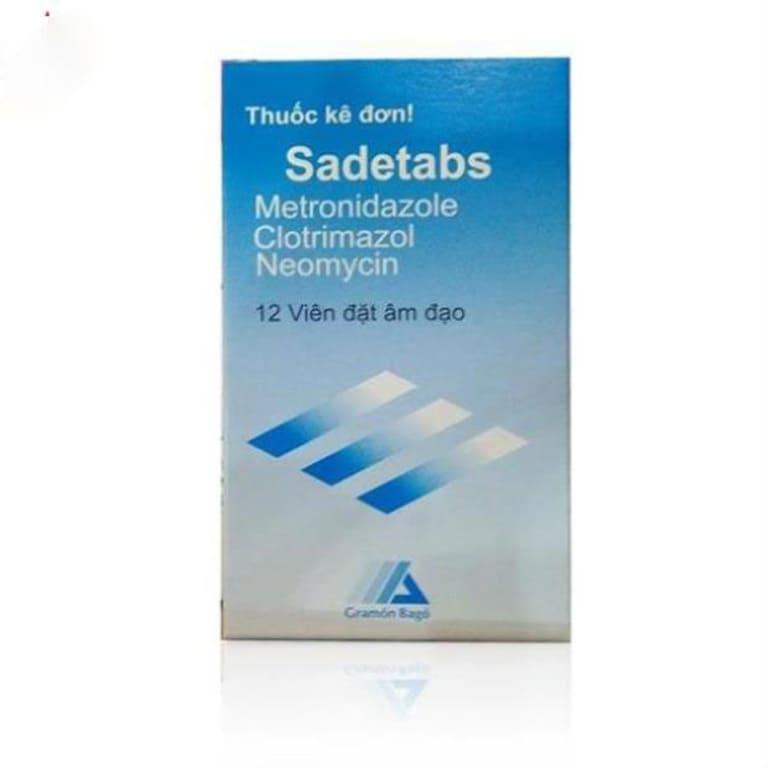 Thuốc điều trị viêm âm đạo Sadetabs
