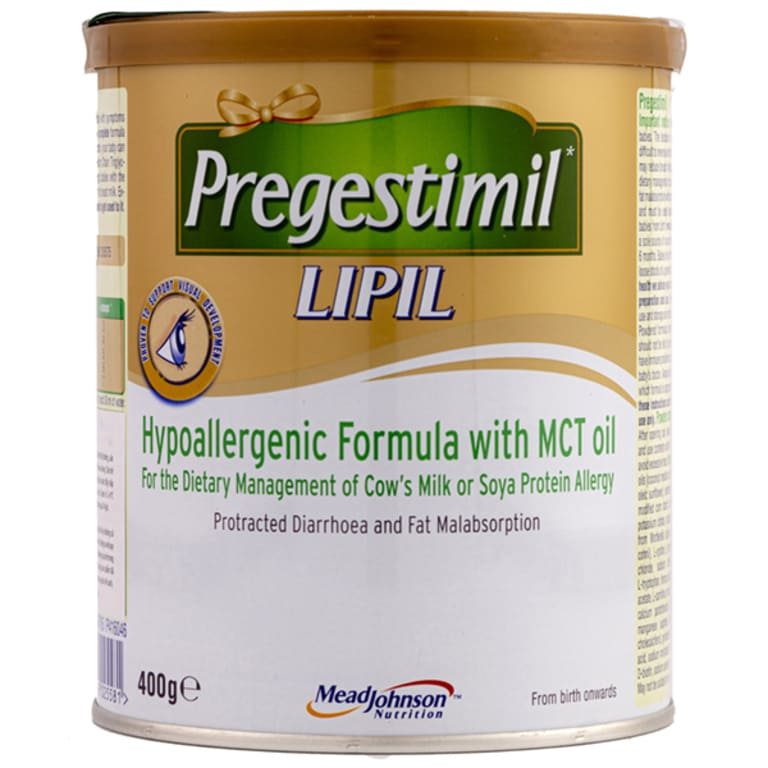 Sữa dành cho trẻ rối loạn tiêu hóa Pregestimil Lipil