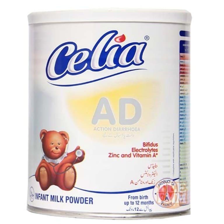 Sản phẩm sữabột Celia AD cho trẻ rối loạn tiêu hóa