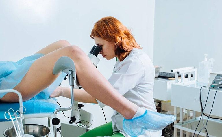 điều trị viêm lộ tuyến diện rộng
