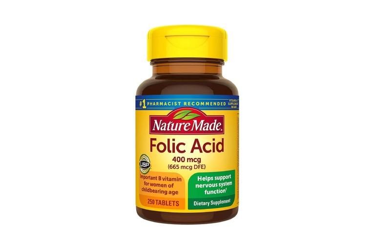 viên uống Acid Folic 400mcg Nature Made