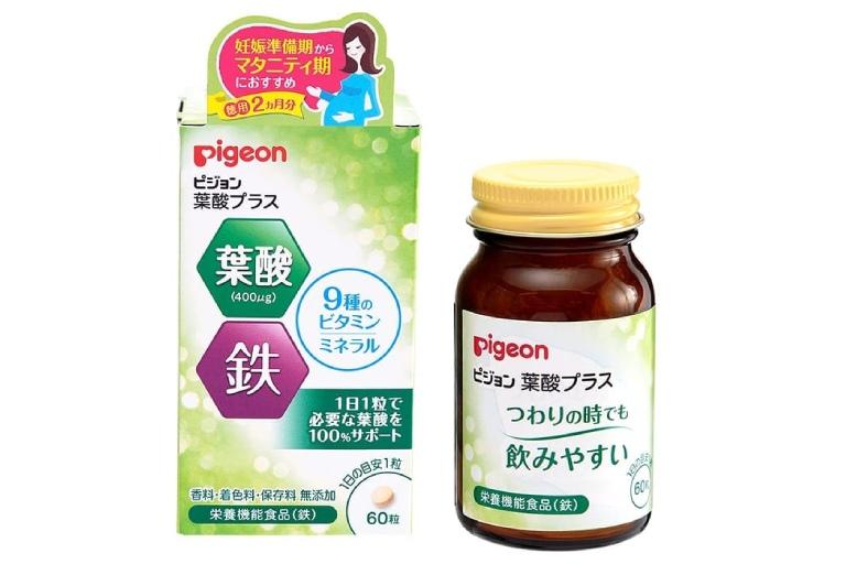 Viên uống Axit Folic của Pigeon
