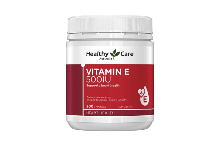 Viên uống Vitamin E Healthy Care 500IU