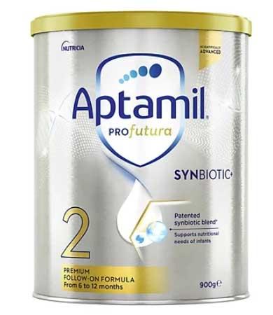 Sữa Aptamil số 2 là loại sữa có xuất xứ từ Châu Âu có tiêu chuẩn cao