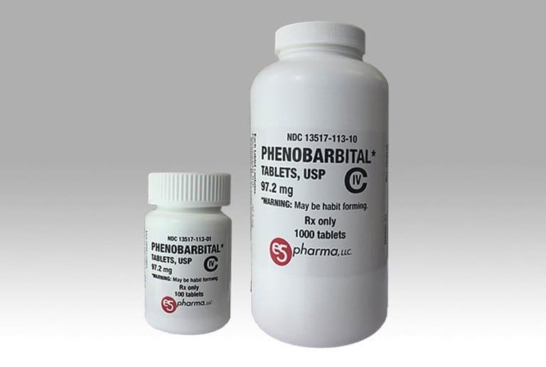 Thuốc Tây trị mất ngủ Phenobarbital