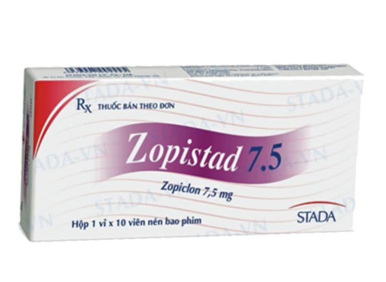 Thuốc tây trị mất ngủ Zopistad