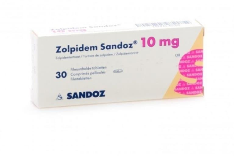Thuốc Tây trị mất ngủ Zolpidem