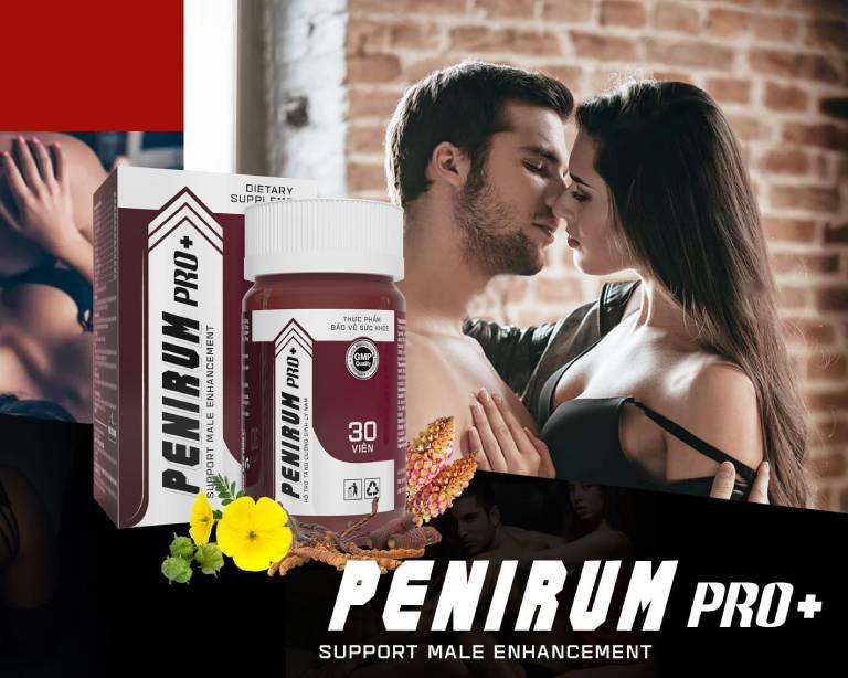 viên uống Penirum Pro+ có tốt không, uống penirum pro có làm tăng kích thước dương vật