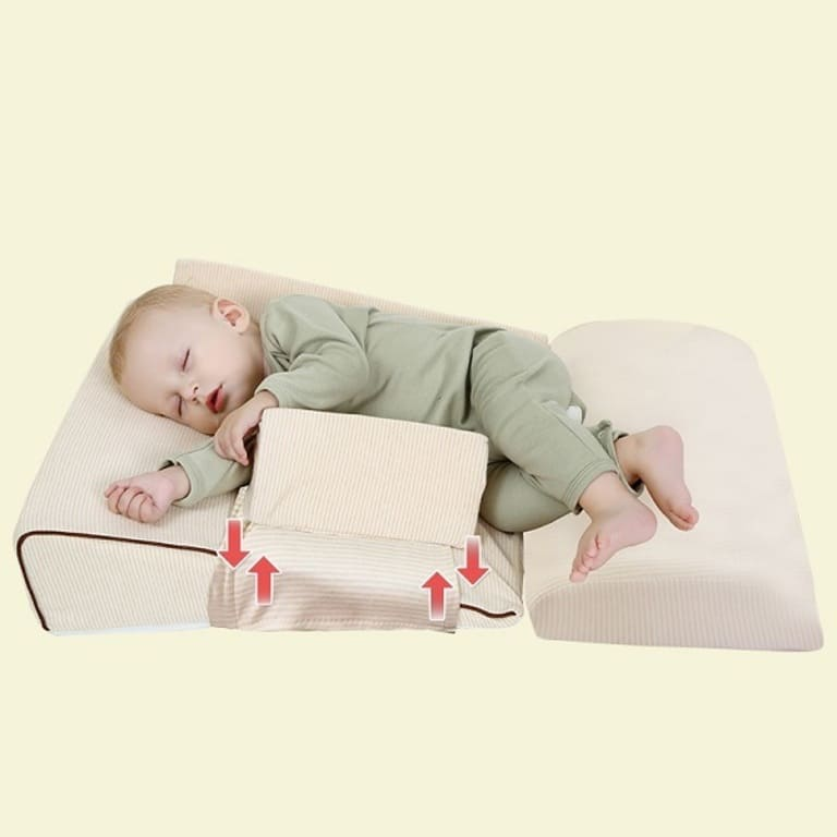 Gối chống trào ngược cho bé sơ sinh Babieskey