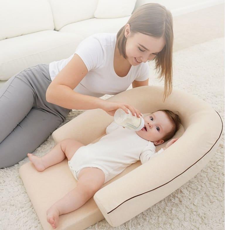 Sản phẩm gối chống trào ngược cho bé Dilemon