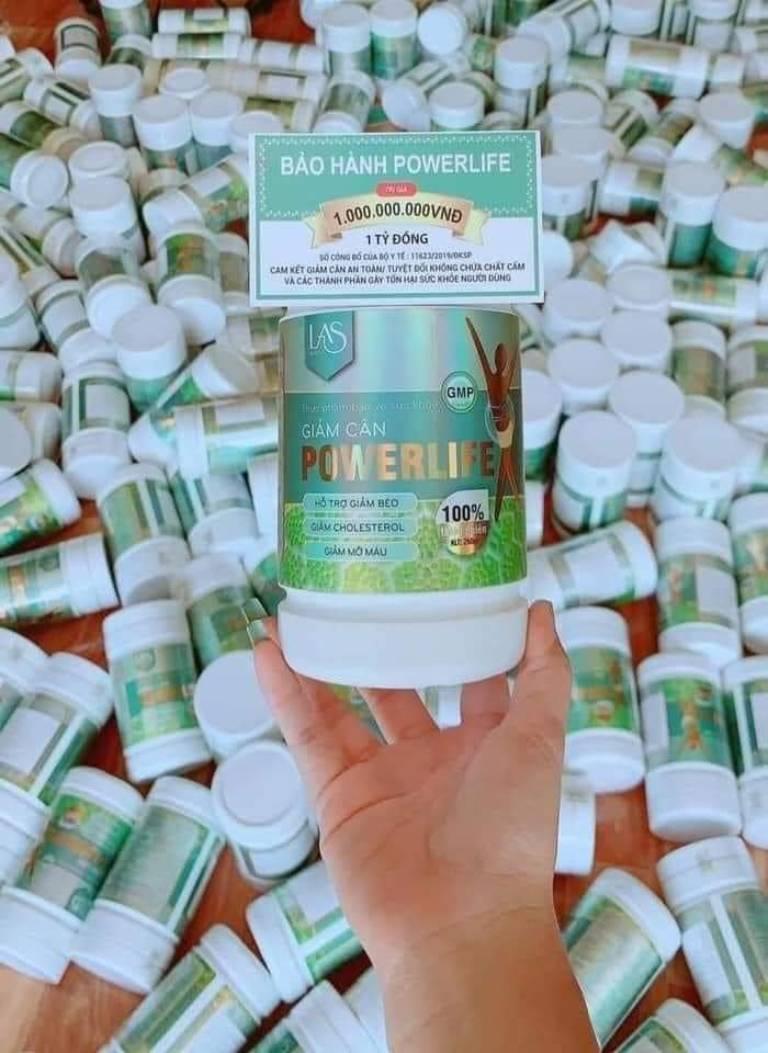 sữa tảo giảm cân Powerlife