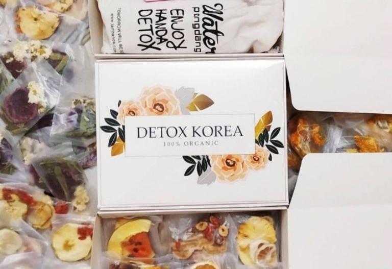 Trà Detox Korea hoa quả sấy khô