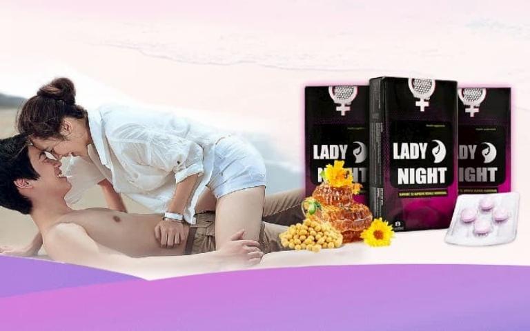 công dụng của viên ngậm Lady Night giúp phụ nữ sung mãn sinh lý