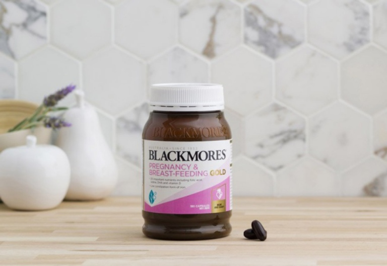 Blackmores Pregnancy And Breast - Feeling Gold